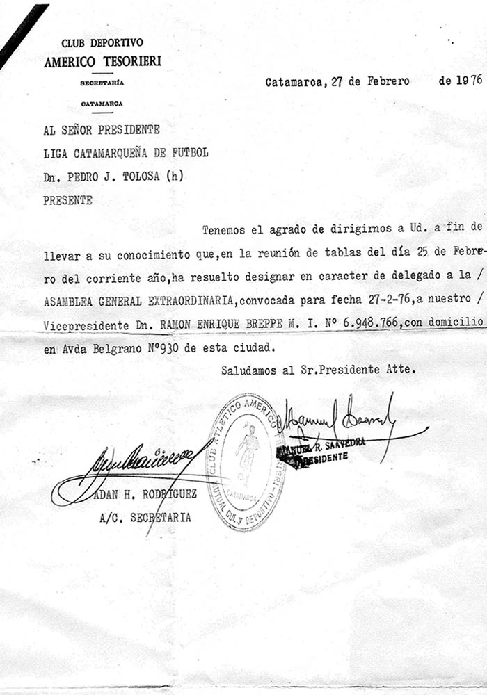 documento historico